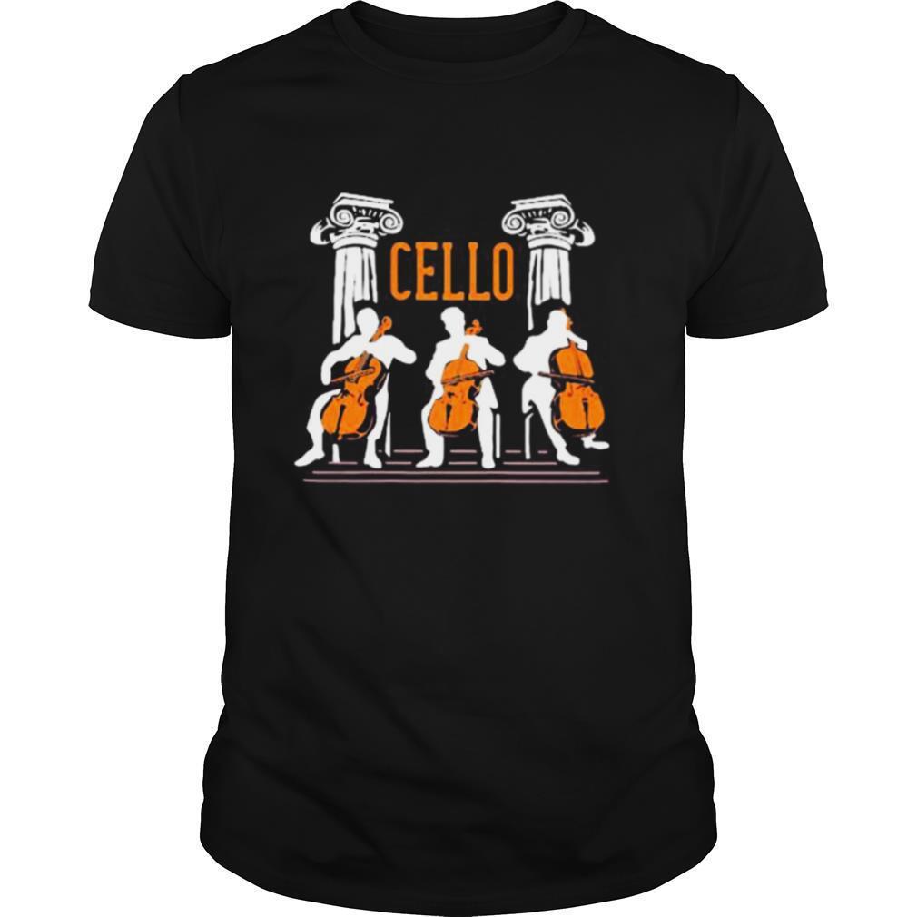 cello player shirt Classic Men's