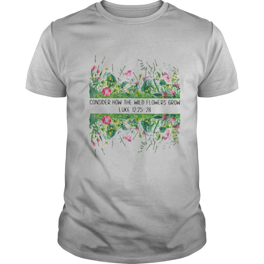 Consider How The Wild Flowers Grow Luke shirt Classic Men's