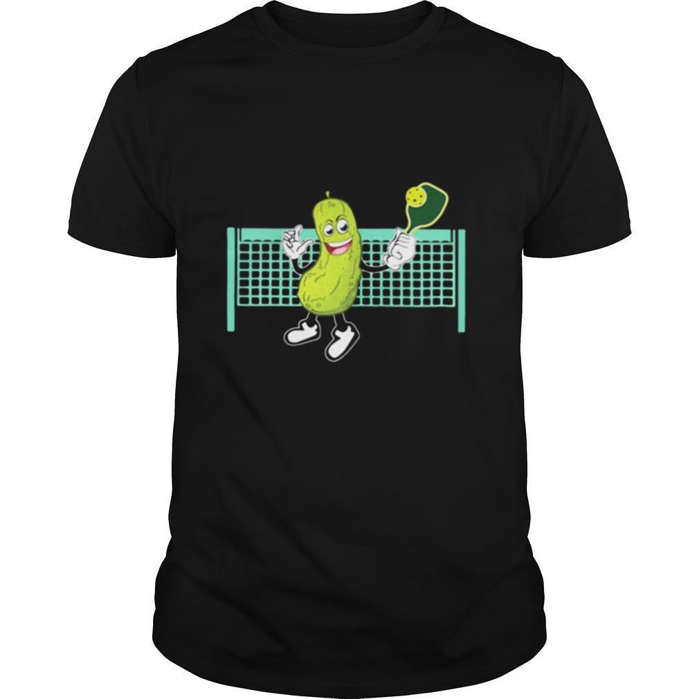 cucumber playing pickleball shirt Classic Men's