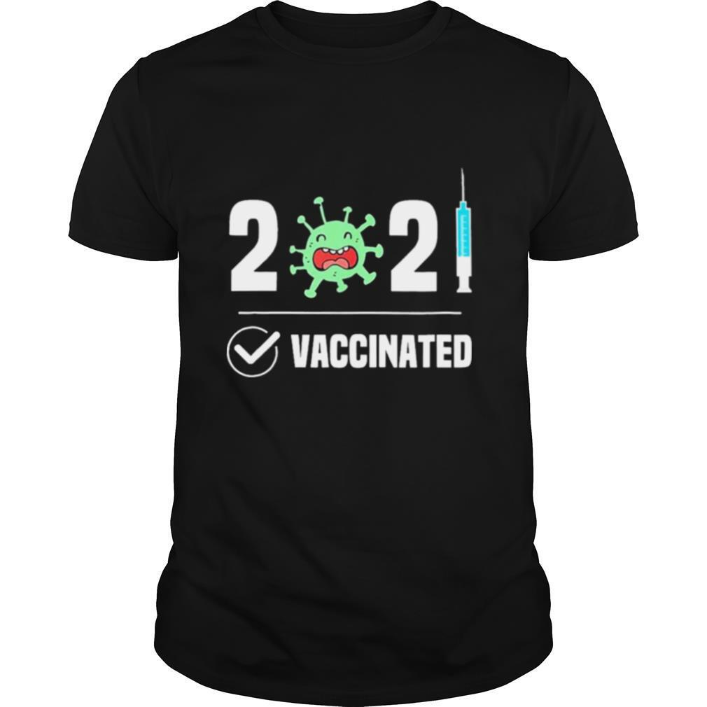 Get Vaccinated 2021 Covid 19 shirt Classic Men's