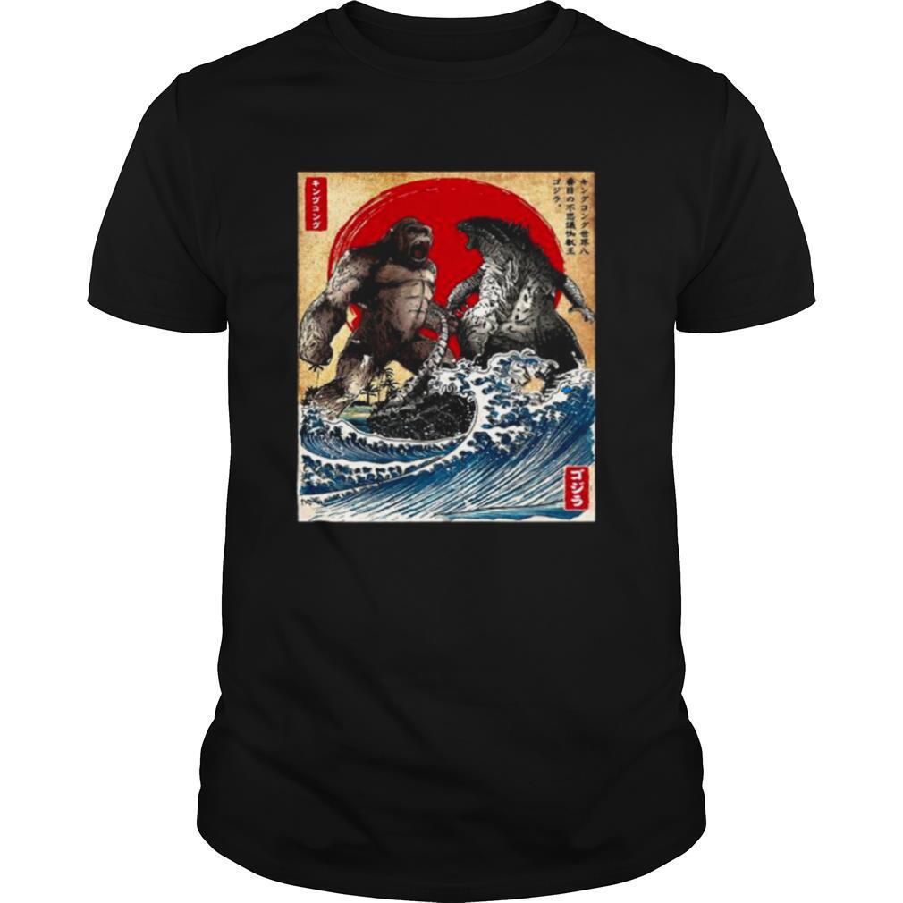 Kaiju Japanese King Kong Vs Godzilla Movie 2021 shirt Classic Men's