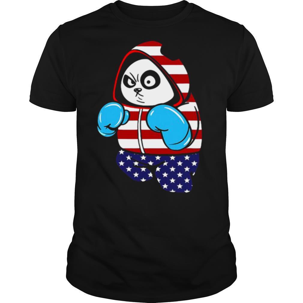 USA United States Boxing Panda Bear shirt Classic Men's