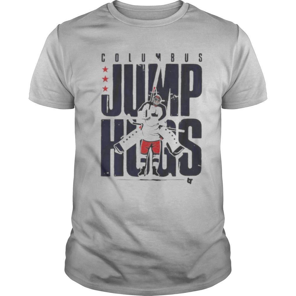 Columbus jump hugs hockey shirt Classic Men's