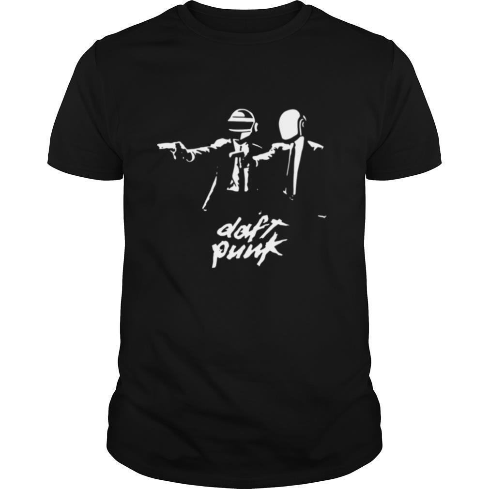 daft punk fiction essential shirt Classic Men's
