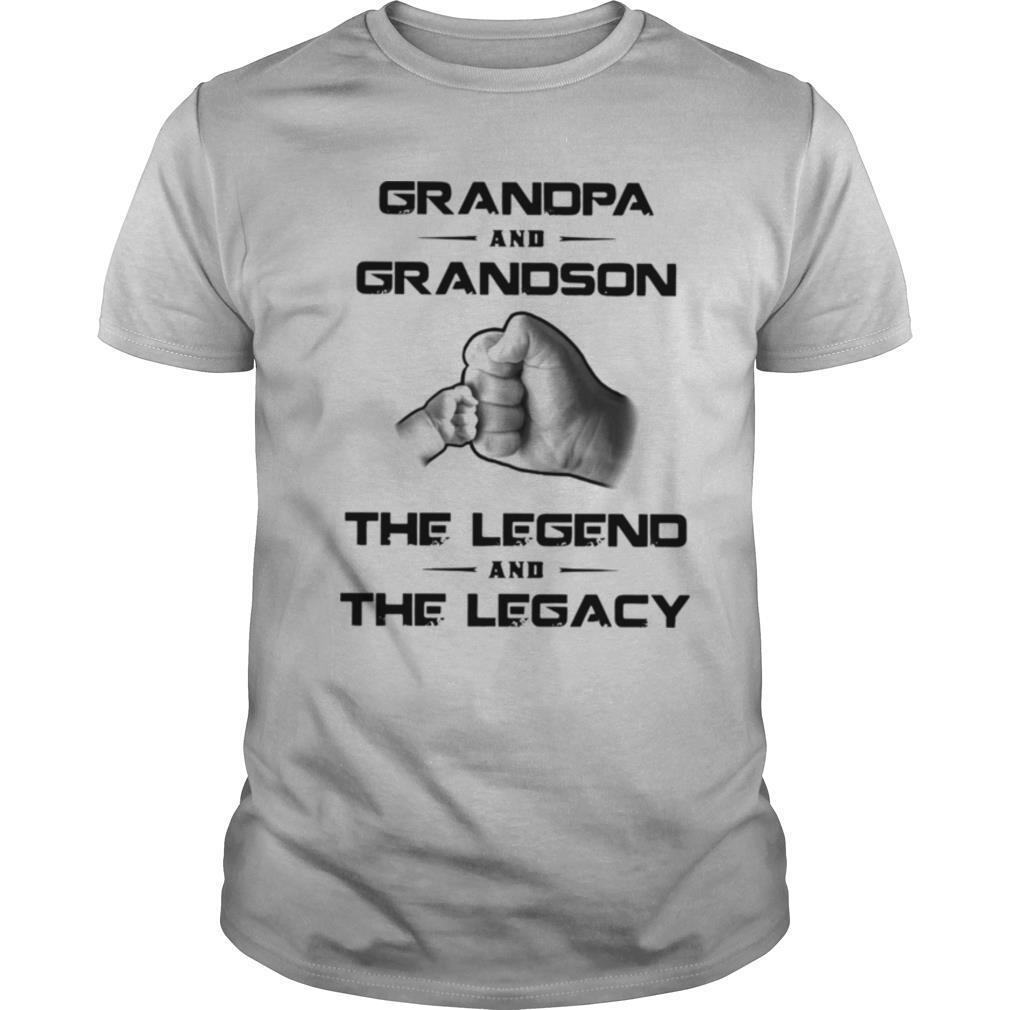 Grandpa And Grandson The Legend And The Legacy shirt Classic Men's
