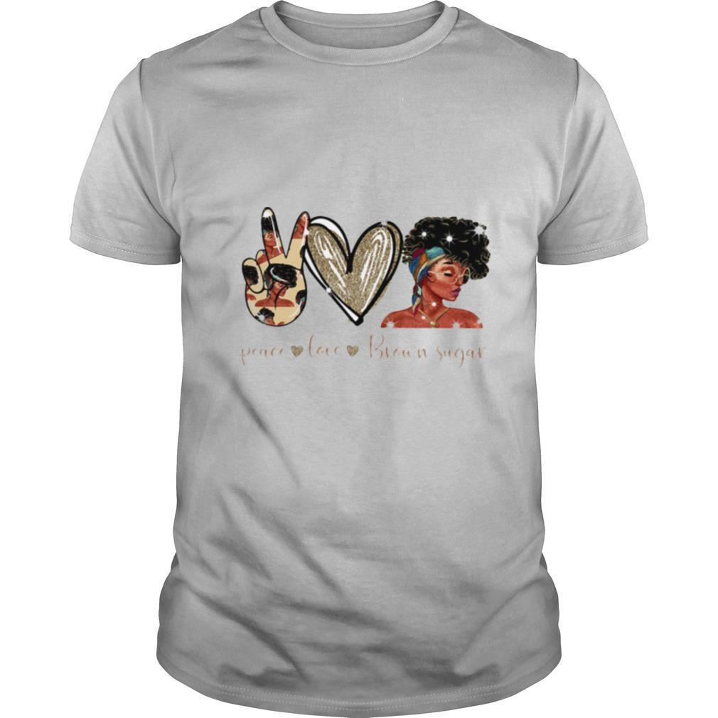 Peace Love Brown Sugar shirt Classic Men's