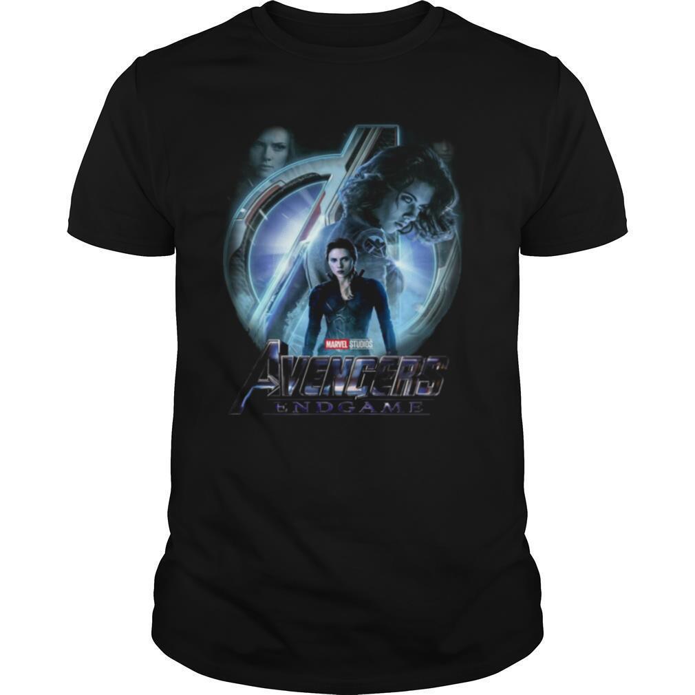 Black Widow Marvel Studios Avengers Endgame shirt Classic Men's