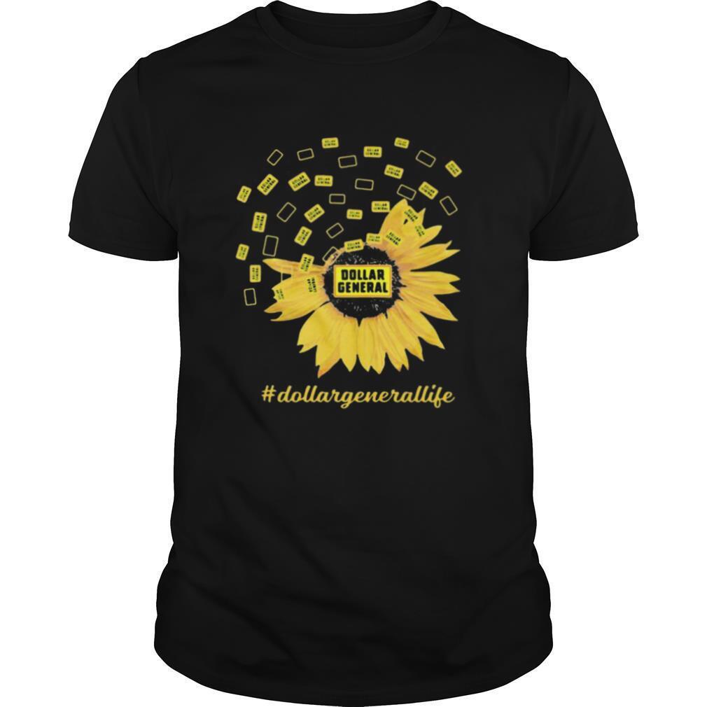 Dollar general life sunflower shirt Classic Men's