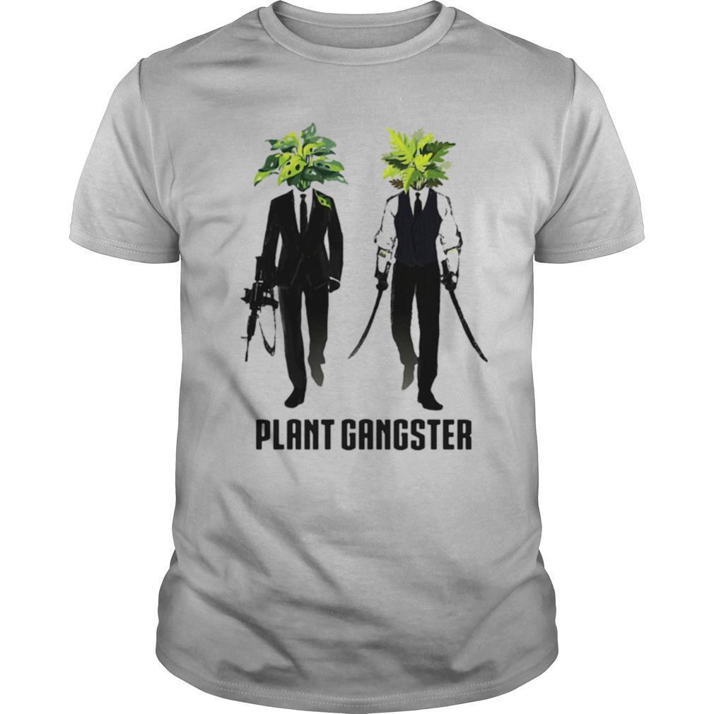 Gardening Plant Gangster shirt Classic Men's