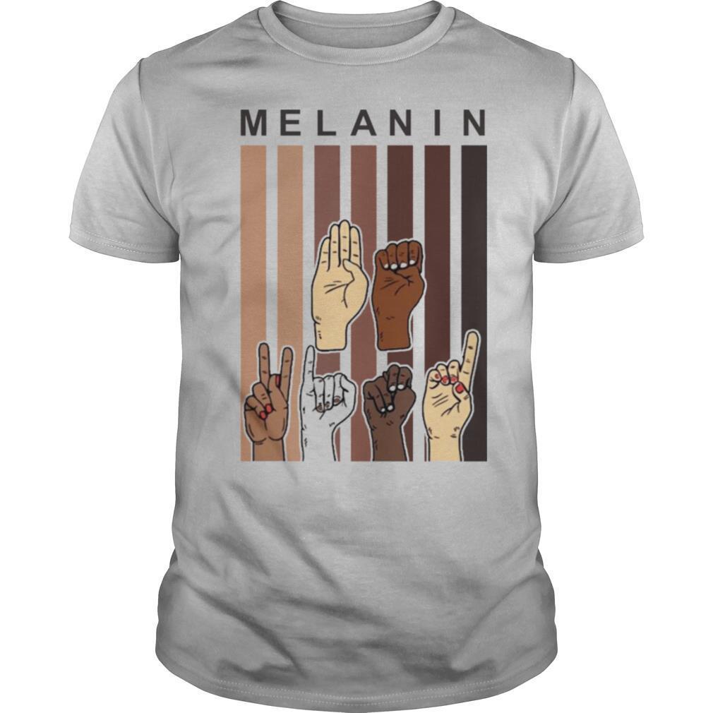 Melanin Hands shirt Classic Men's