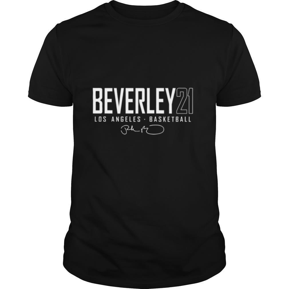 Patrick Beverley Los Angeles Elite signature shirt Classic Men's