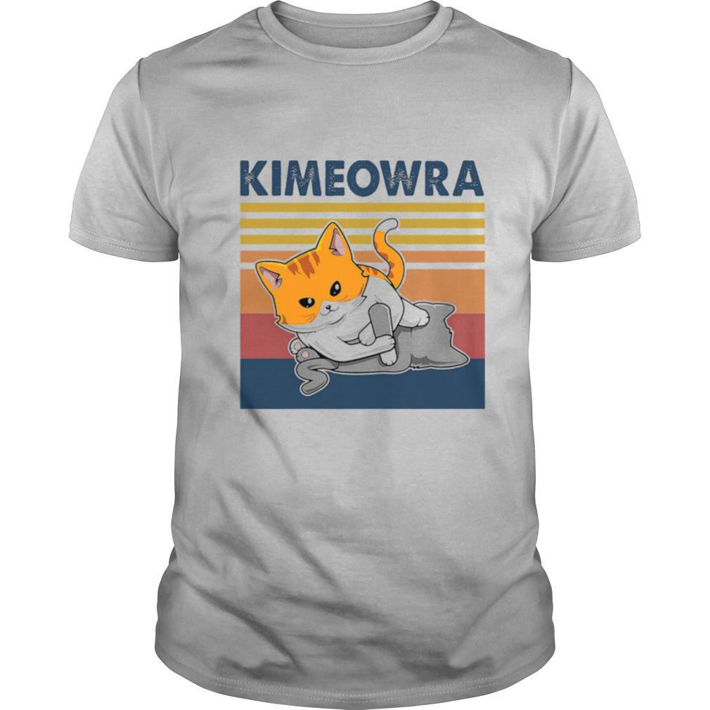Cat kimeowra vintage retro shirt Classic Men's
