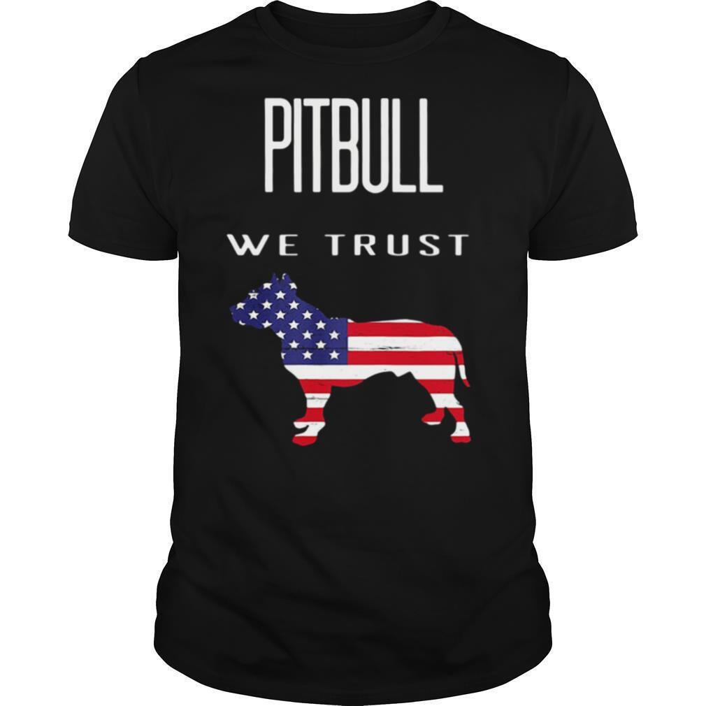 Good Pitbull We Trust America shirt Classic Men's