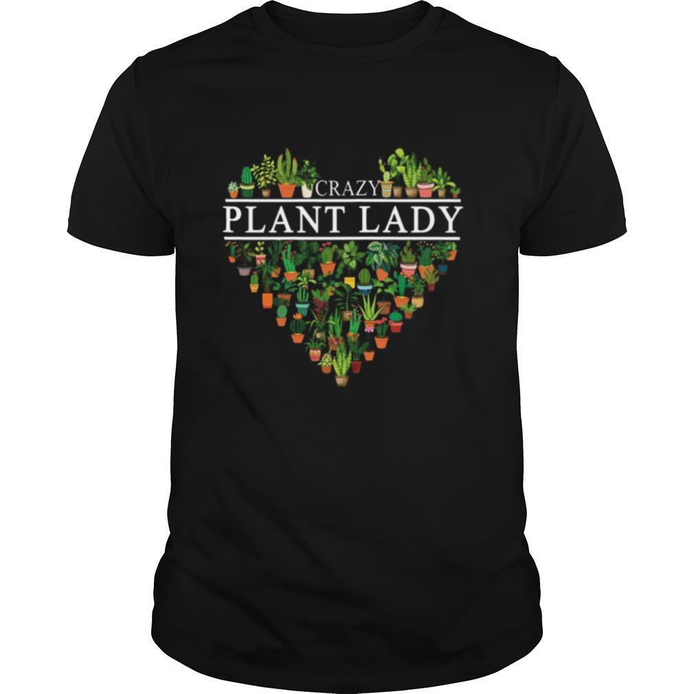 Heart Crazy Plant Lady shirt Classic Men's