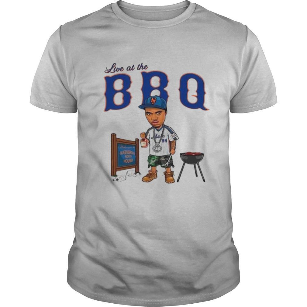Live At The BBQ shirt Classic Men's