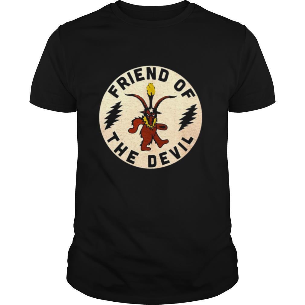 Satan Friend Of The Devil shirt Classic Men's