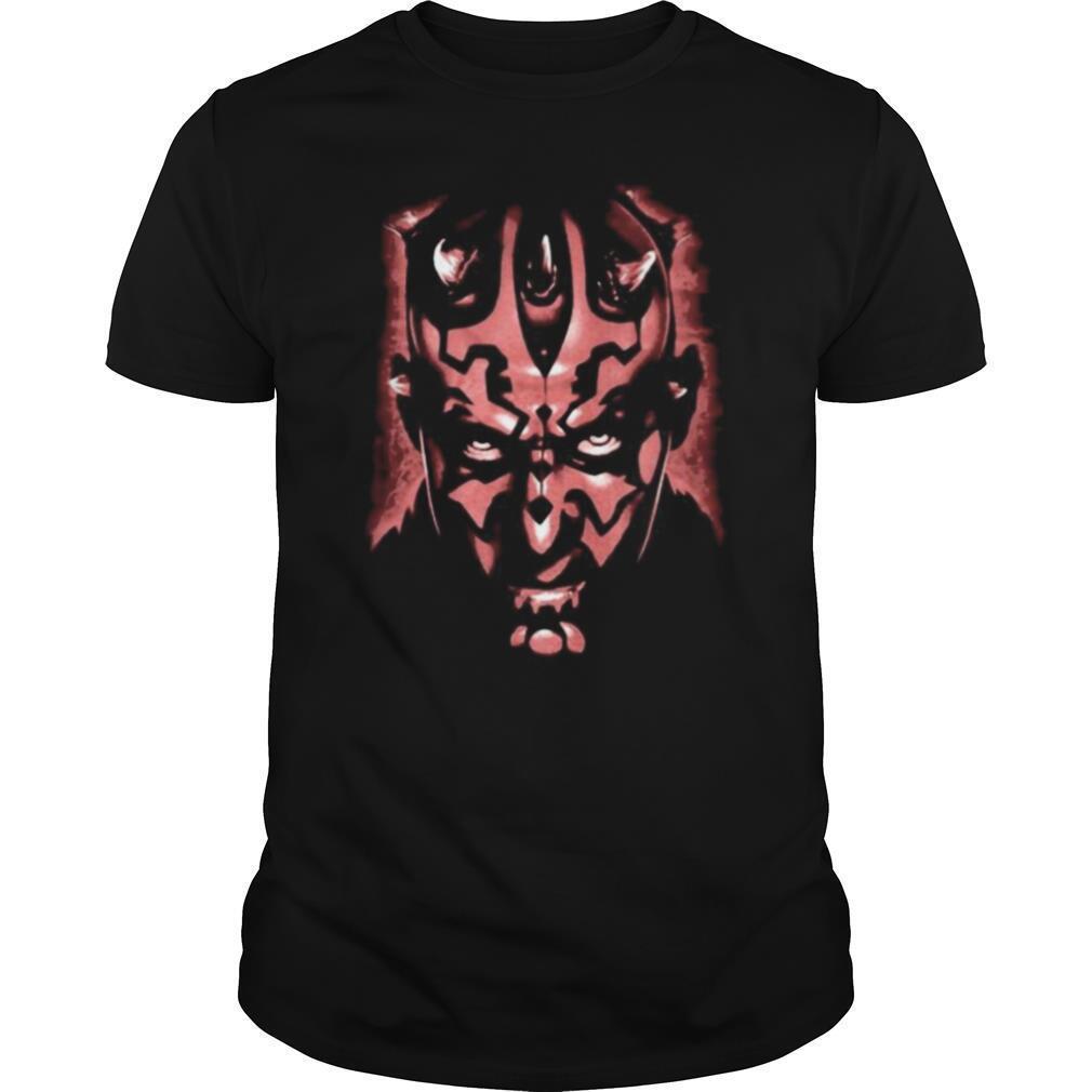 Star wars darth maul face shirt Classic Men's