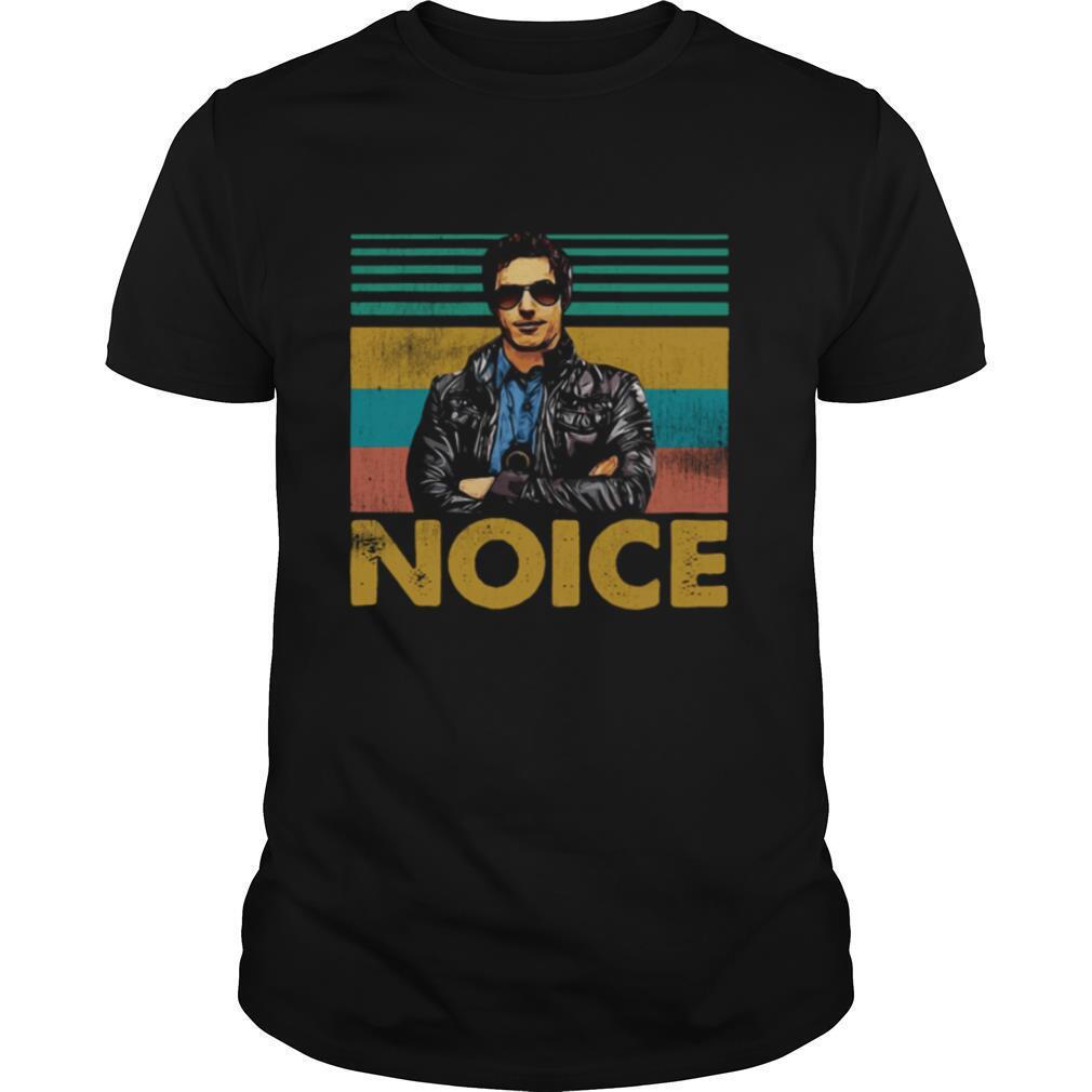 Detective Jake Peralta Brooklyn Noice Vintage Retro shirt Classic Men's