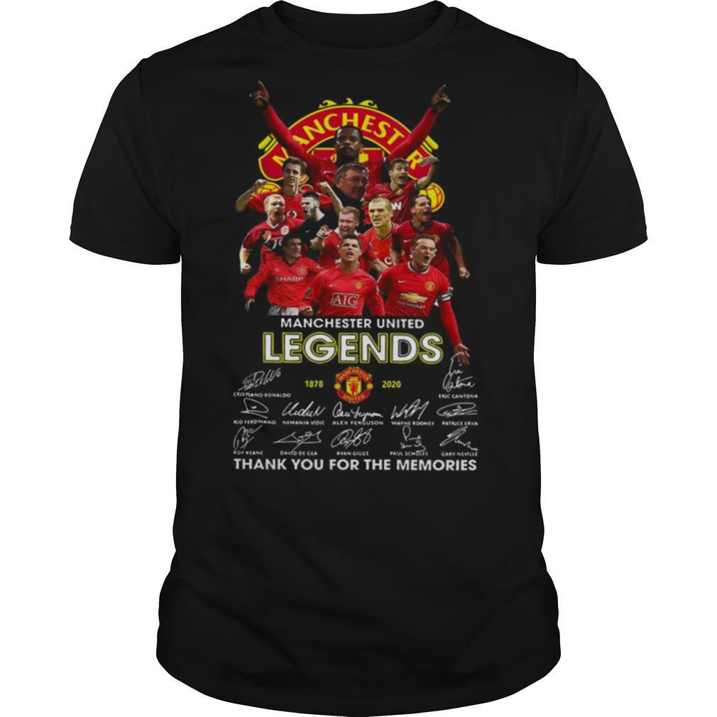 Manchester United 1878 2020 Thank You For The Memories Signature shirt Classic Men's