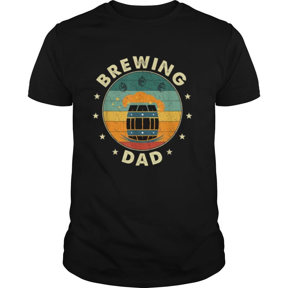Mens Beer Brewing Dad Father T shirt Classic Men's