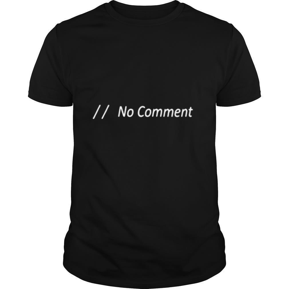 No comment shirt Classic Men's