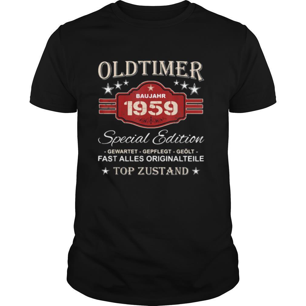 Oldtimer baujahr 1959 special edition gewartet gepflegt geölt fast alles originalteile top zustand shirt Classic Men's