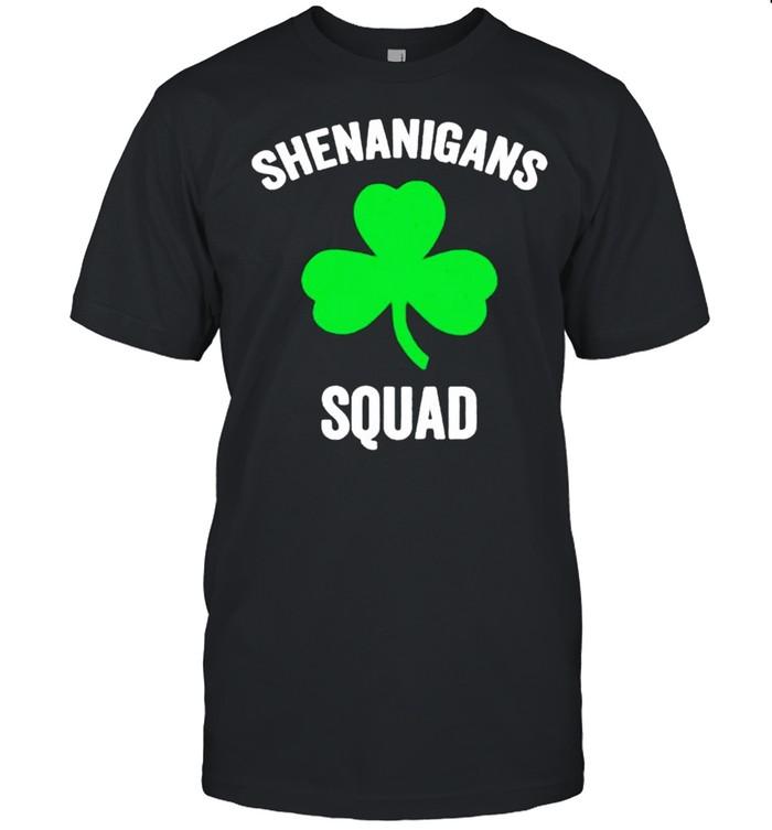 Shenanigans squad St Patricks day shirt Classic Men's T-shirt