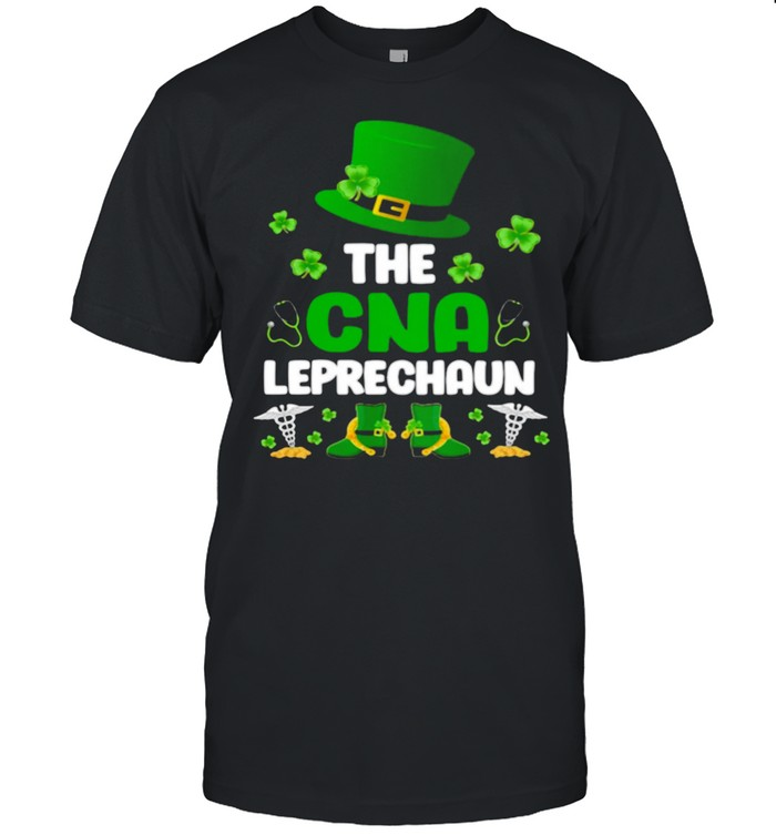 St Patrick's Day The CNA Leprechaun shirt Classic Men's T-shirt