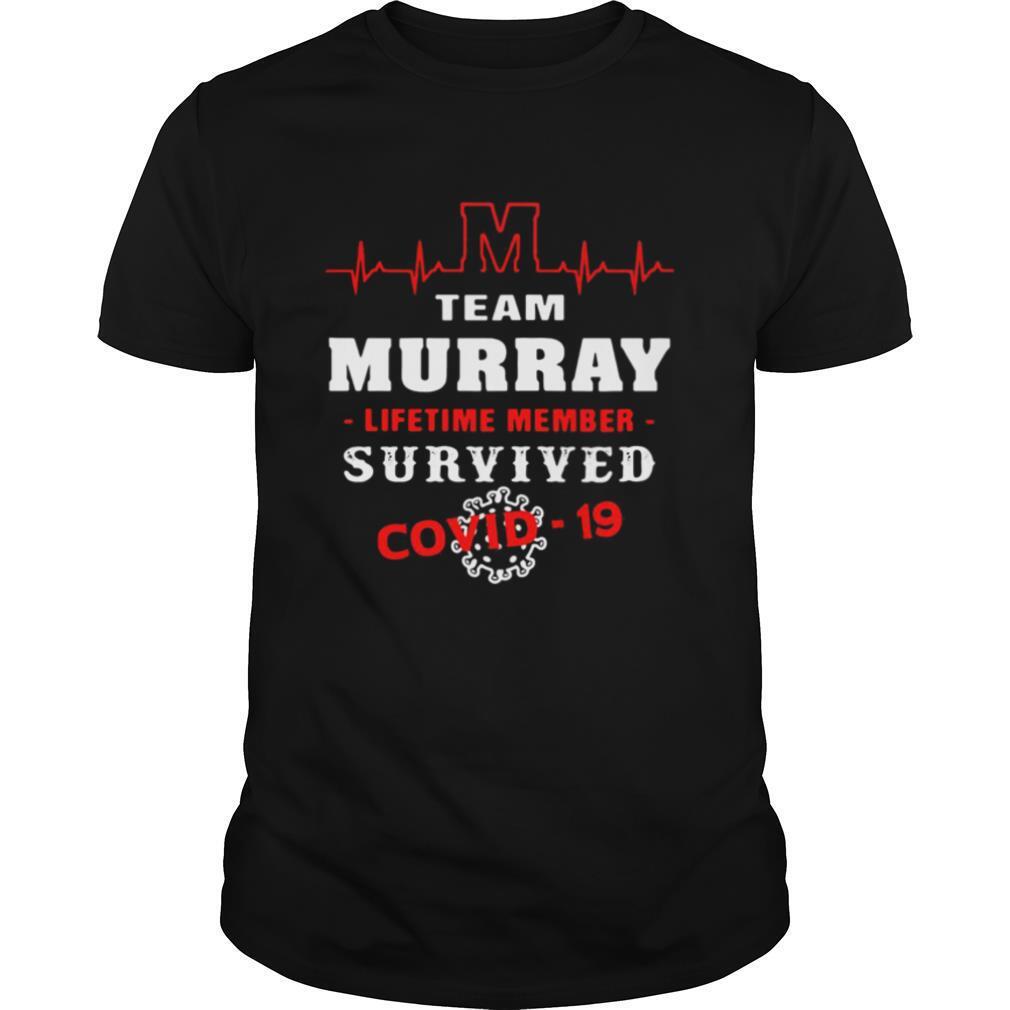 Team murray lifetime member survived Covid 19 2020 shirt Classic Men's
