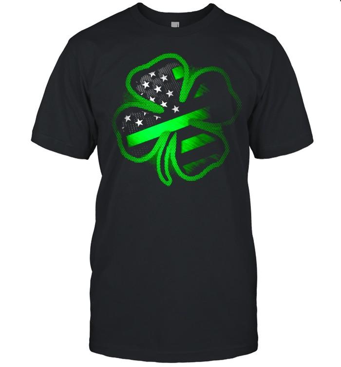 2021 Firefighter clover St Patricks Day shirt Classic Men's T-shirt