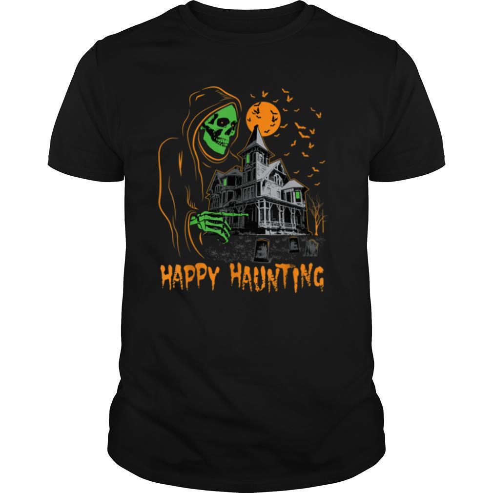 Happy Haunting Halloween T shirt Classic Men's
