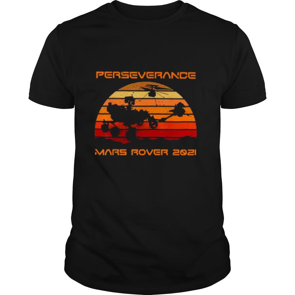 Perseverance Mars Rover 2020 Sunset shirt Classic Men's