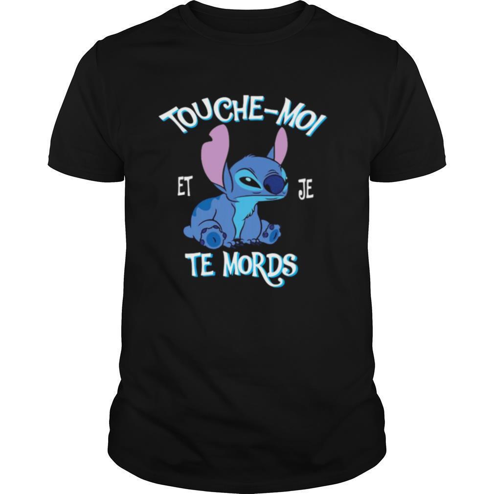 Stitch touche moi et je te mords shirt Classic Men's
