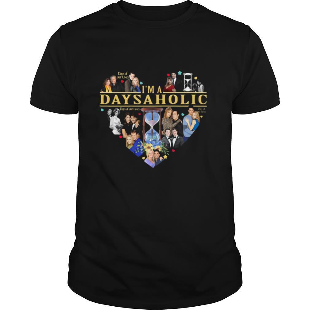 I'm a days a holic heart shirt Classic Men's