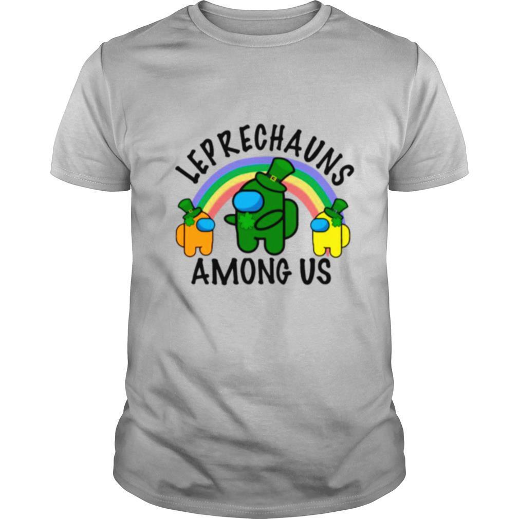 Leprechauns Among Us Imposter Rainbow St Patricks Day shirt Classic Men's