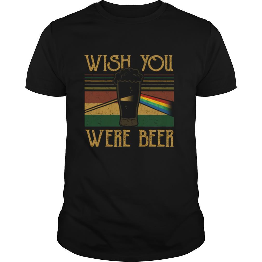 Pink Floyd Wish You Were Beer Vintage shirt Classic Men's