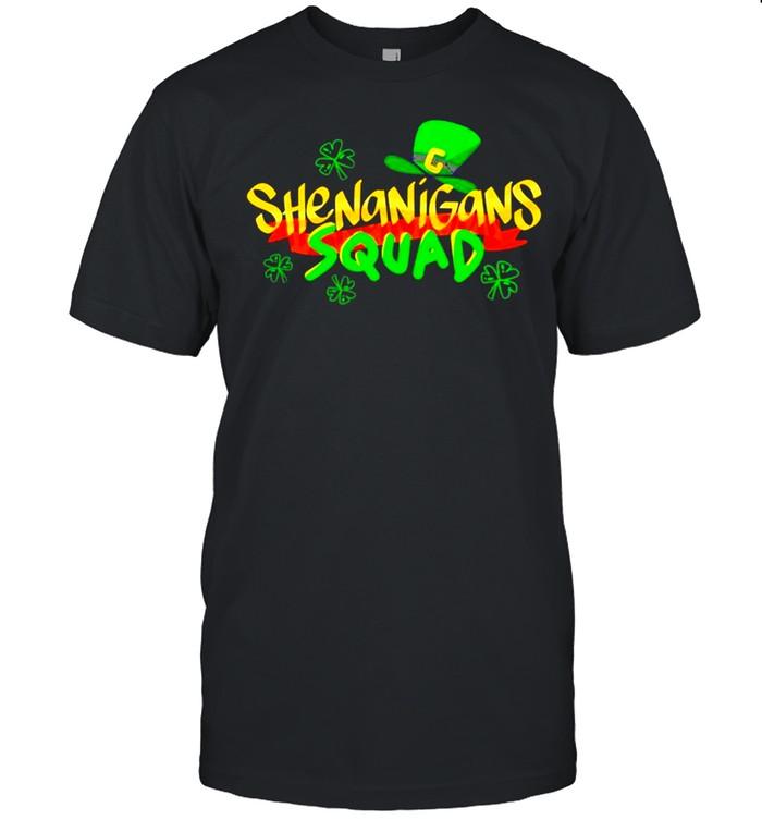 Shenanigans Squad Funny St. Patricks Day Matching Group shirt Classic Men's T-shirt