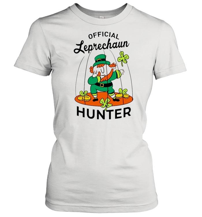 2021 Leprechaun hunter St Patricks Day shirt Classic Women's T-shirt