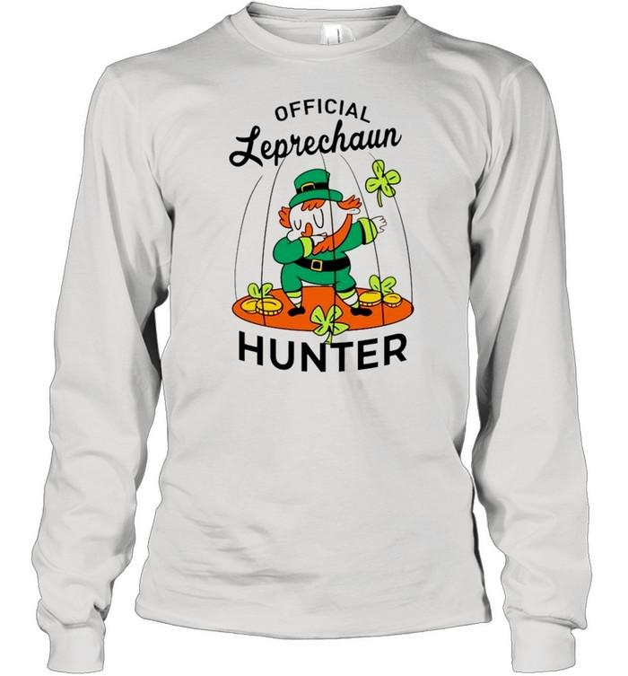 2021 Leprechaun hunter St Patricks Day shirt Long Sleeved T-shirt