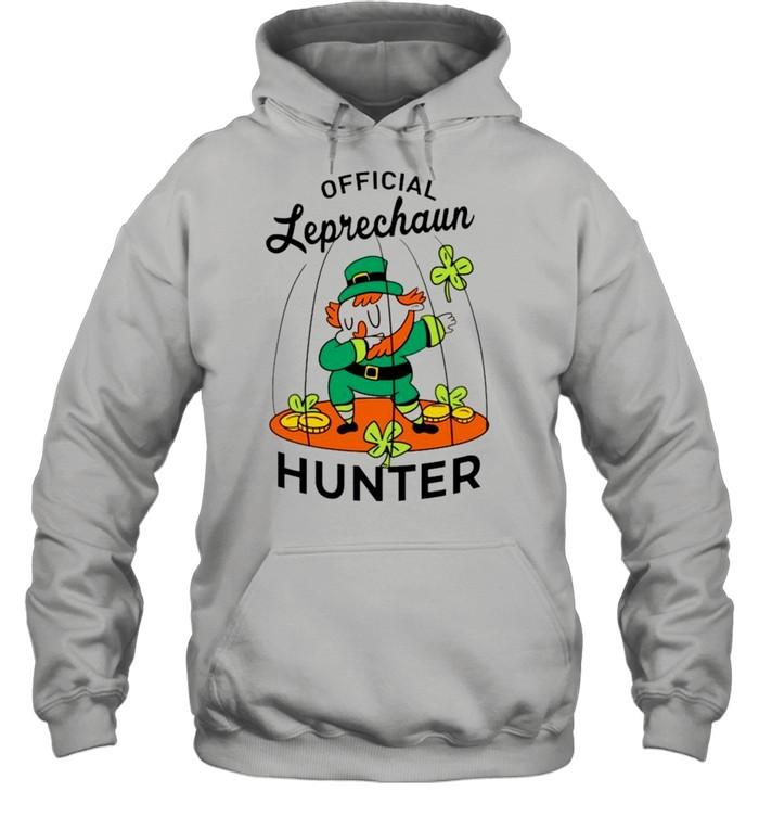 2021 Leprechaun hunter St Patricks Day shirt Unisex Hoodie