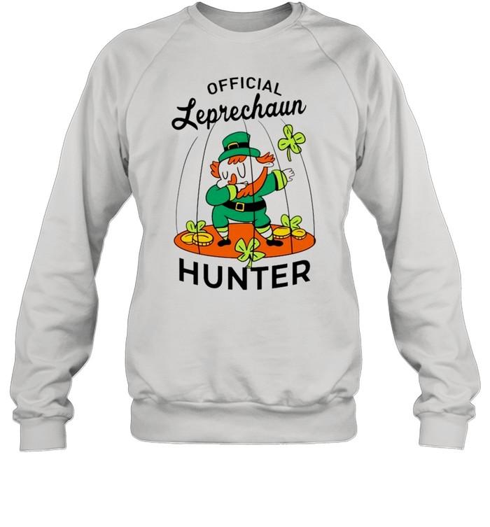 2021 Leprechaun hunter St Patricks Day shirt Unisex Sweatshirt
