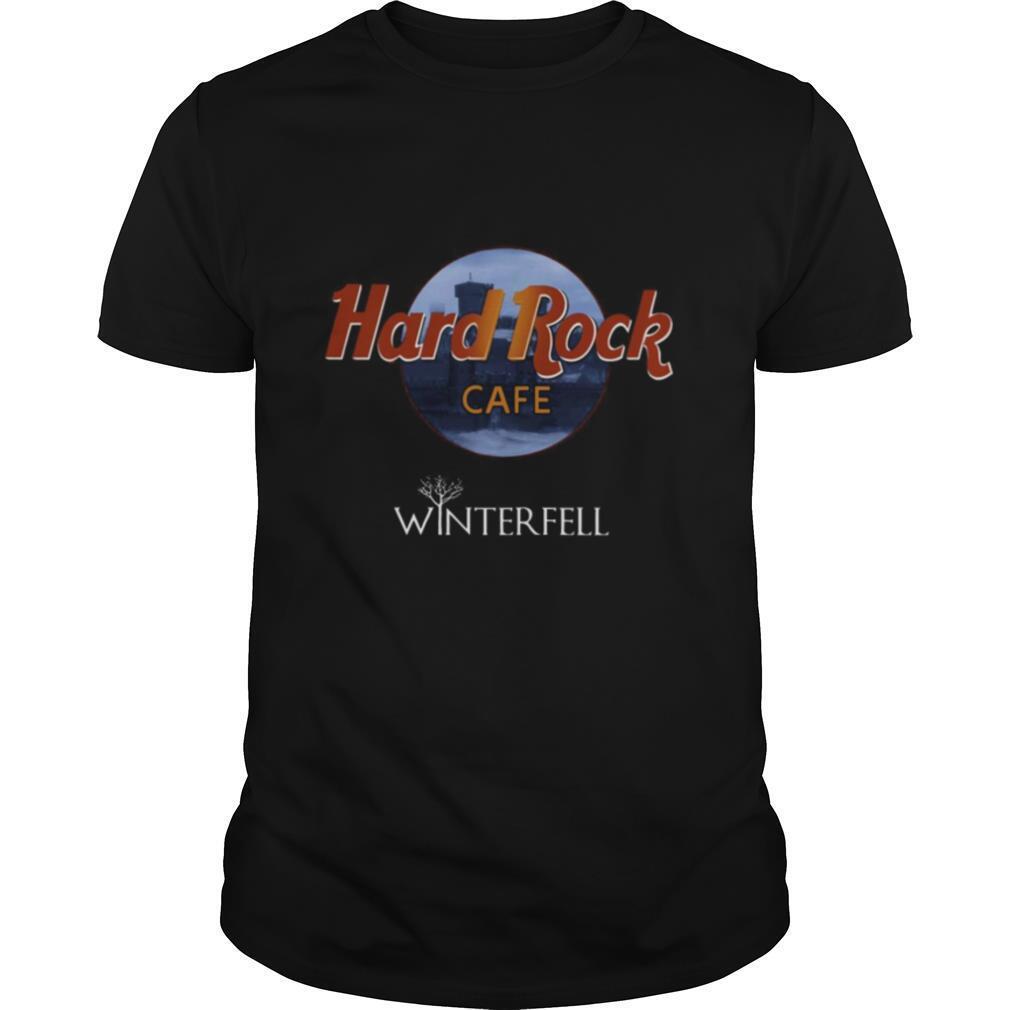 Hard Rock Winterfell Cafe shirt Classic Men's