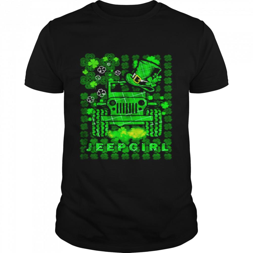 Jeepgirl St Patricks Day shirt
