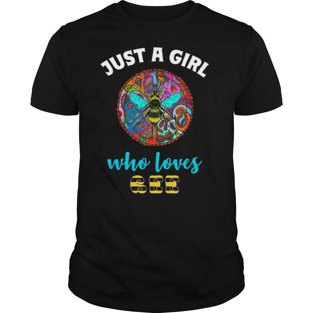 Just A Girl Who Loves Bee Color shirt Classic Men's