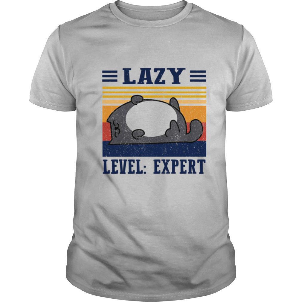 Lazy Level Expert Vintage shirt Classic Men's