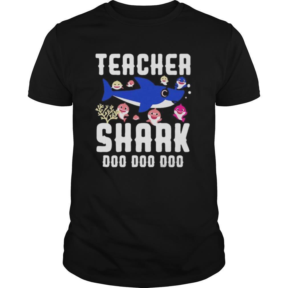Teacher shark doo doo doo shirt Classic Men's