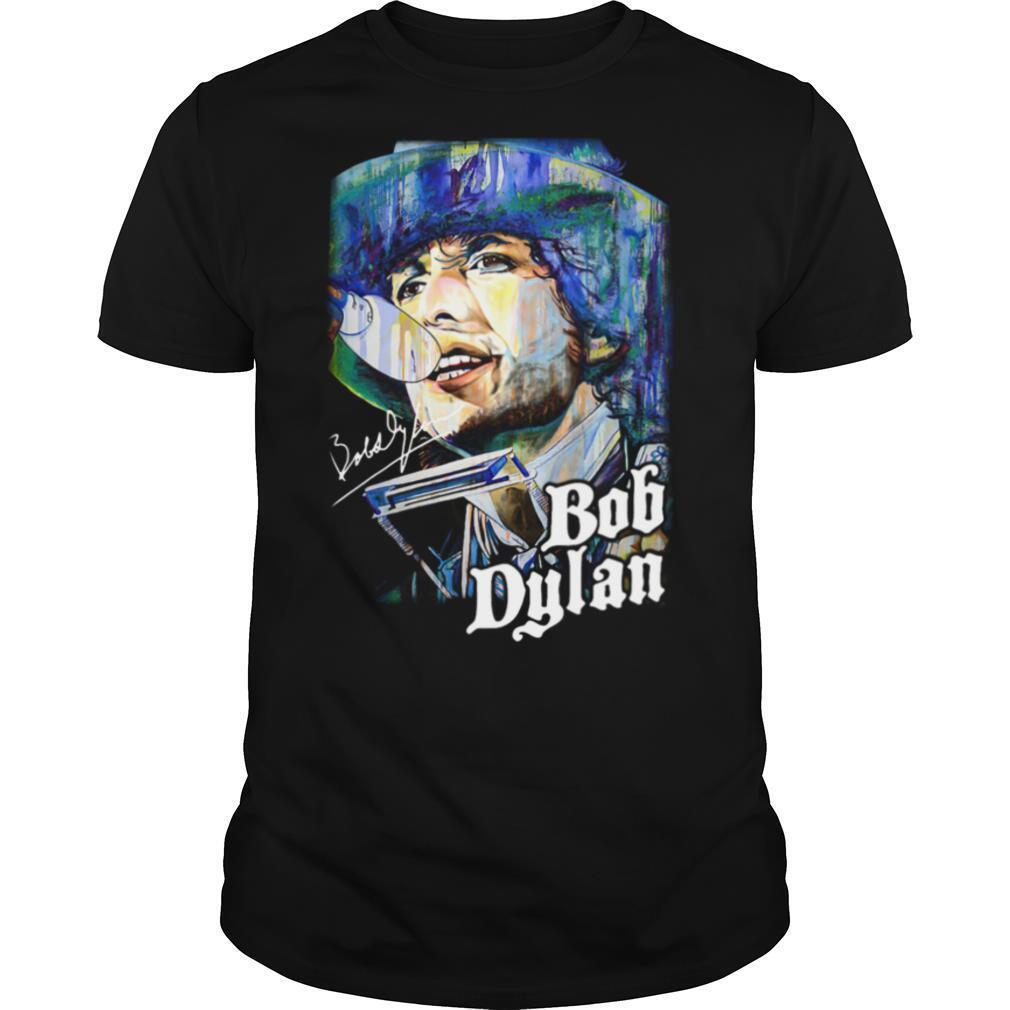 Bob Dylan Art Signature shirt Classic Men's