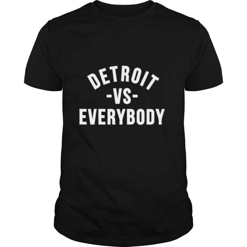 Detroit vs everybody shirt Classic Men's