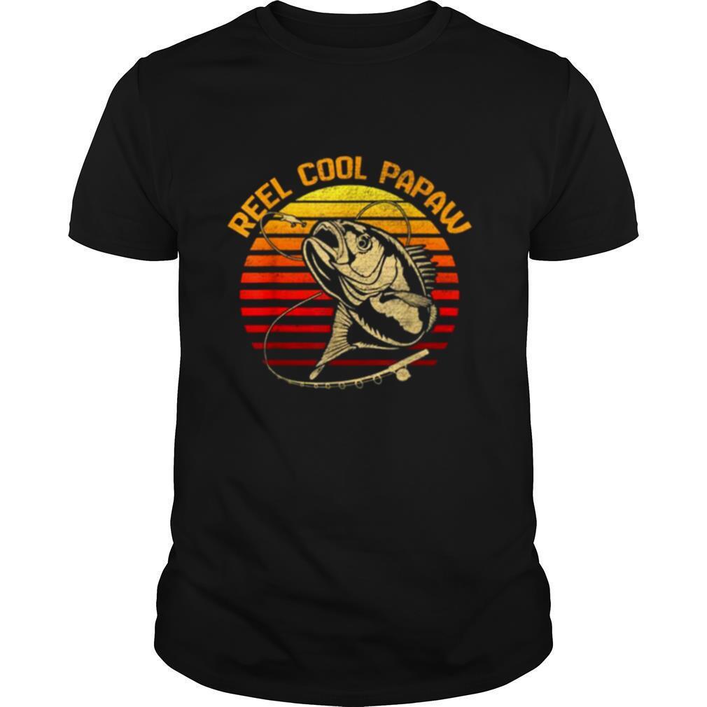 Fishing Reel Cool Papaw Vintage shirt Classic Men's