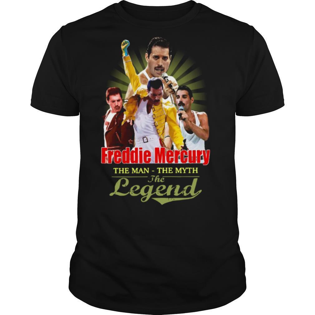 Freddie Mercury The Man The Myth The Legend shirt Classic Men's